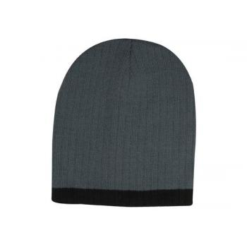 Two Tone Cable Knit Beanie 9 Colour Options