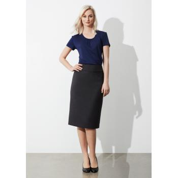 Ladies Classic Below Knee Skirt