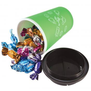 Mixed Eclairs in Aroma Double Walled Coffee Cup
